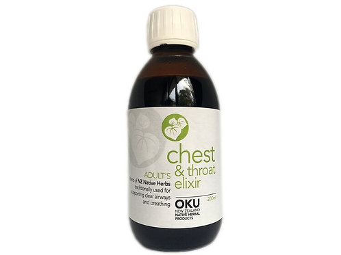 Chest & Throat Elixir Adult - 100ml