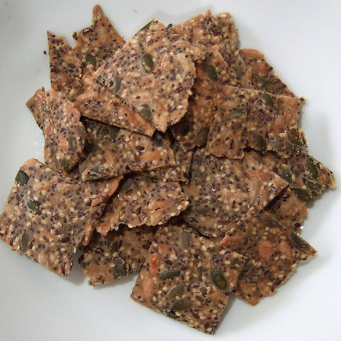 Chilli Seed Crackers - 150 grams