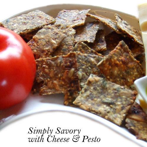 Savory Rice Seed Crackers - 150 grams