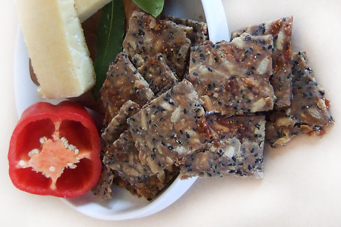 Buckwheat Walnut Fig Crackers - 150g