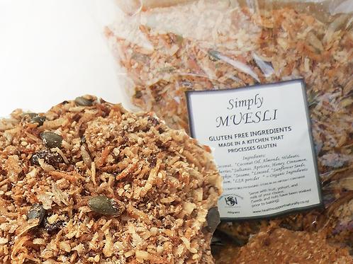 MUESLI - gluten free ingredients