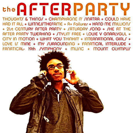 """Back Cover Album Art Work for Elitenment's 2012 Hip Hop Album, """"After Party (Deluxe Edition)"""""""