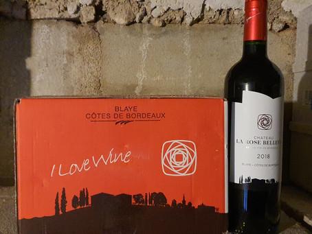 Merci aux acheteurs de notre dernière campagne de vente de vin: 100 cartons vendus = carton plein