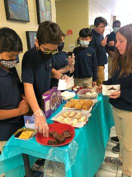 Grade 5/6 Bake Sale a Sweet Success!