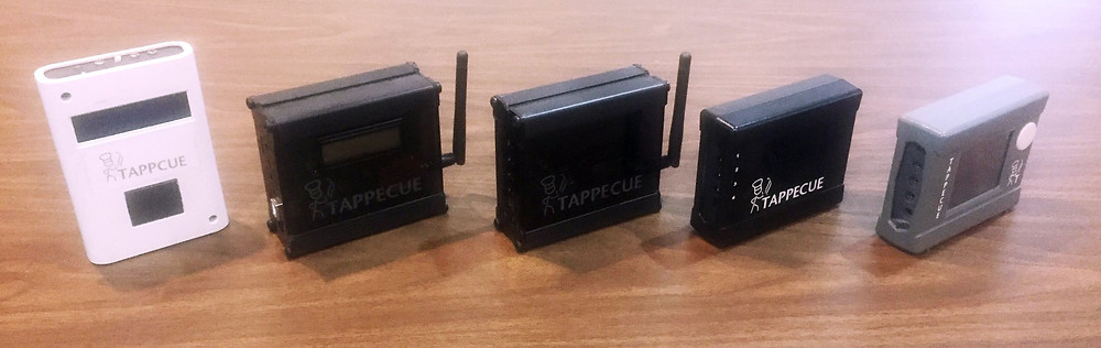 Tappecue Progression from Prototype to Tappecue Touch