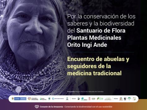 Encuentro de abuelas y seguidores de la medicina tradicional