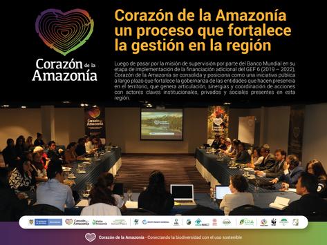 Corazón de la Amazonía un proceso que fortalece la gestión en la región