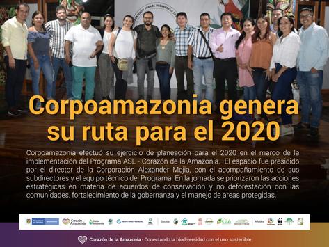 Corpoamazonia genera su ruta para el 2020
