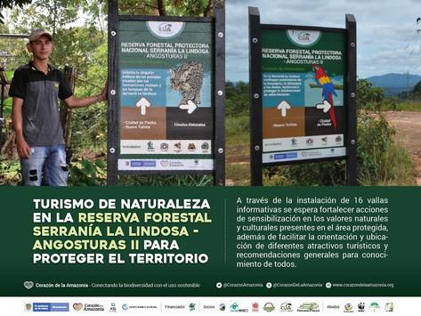Turismo de naturaleza en la Reserva Forestal Serranía la Lindosa - Angosturas II