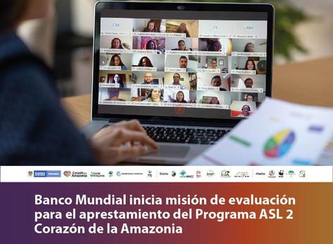 Banco Mundial inicia misión de evaluación para el aprestamiento del Programa ASL 2 CA