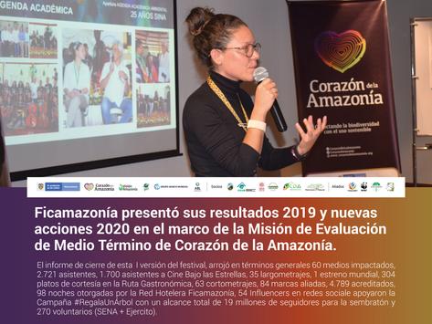 Ficamazonía presentó sus resultados 2019 y nuevas acciones 2020