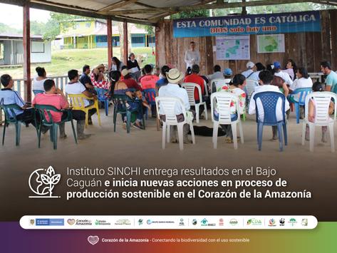 Instituto SINCHI entrega resultados en el Bajo Caguán