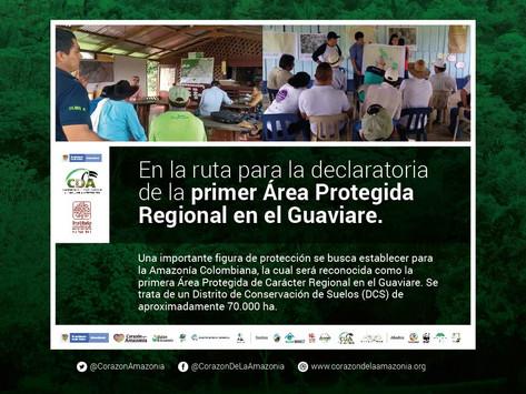 En la ruta para la declaratoria de la primer Área Protegida Regional en el Guaviare.