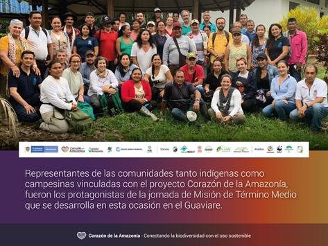 Misión de Término Medio en el Guaviare
