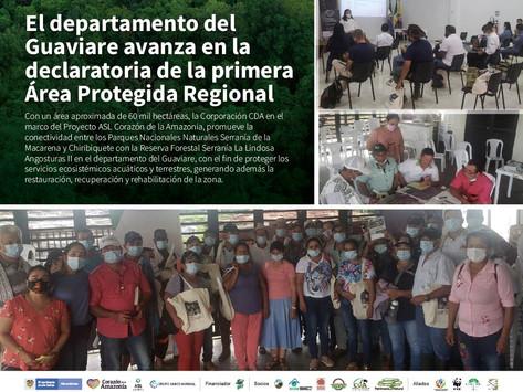 El departamento del Guaviare avanza en la declaratoria de la primera Área Protegida Regional