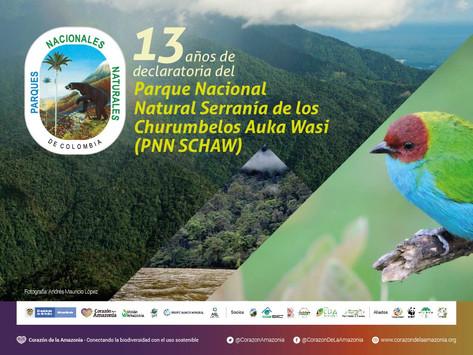 13 años de declaratoria del Parque Nacional Natural Serranía de los Churumbelos Auka Wasi