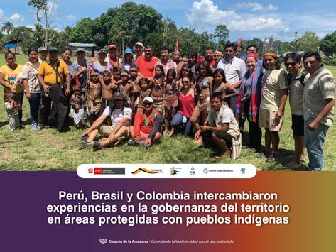 Perú, Brasil y Colombia intercambiaron experiencias
