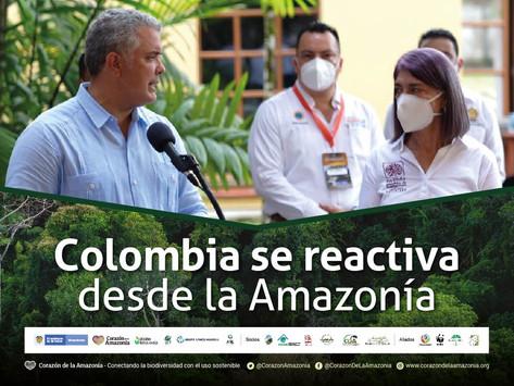 Colombia se reactiva desde la Amazonía