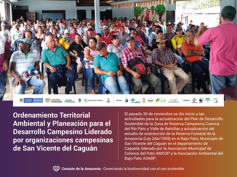 Ordenamiento Territorial Ambiental y Planeación para el Desarrollo Campesino