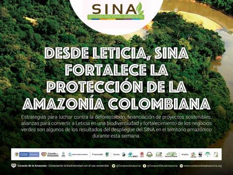 Desde Leticia, SINA fortalece la protección de la Amazonía Colombiana
