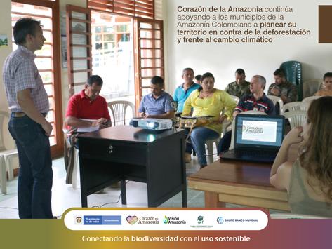 Corazón de la Amazonía continúa apoyando a los municipios de la Amazonía Colombiana