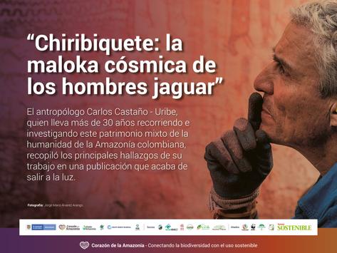 Un viaje literario por Chiribiquete, la maloca del jaguar en la orilla del mundo