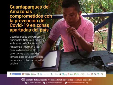 Guardaparques del Amazonas comprometidos con la prevención del Covid-19 en zonas apartadas del país