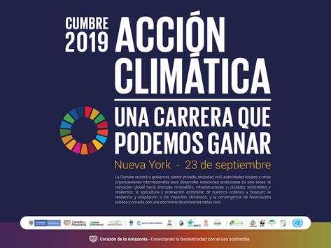 Cumbre sobre la Acción Climática, una carrera que podemos ganar.