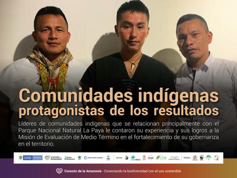 Comunidades indígenas protagonistas de los resultados