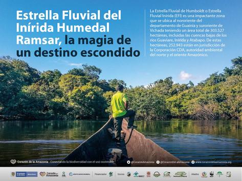 Estrella Fluvial del Inírida Humedal Ramsar, la magia de un destino escondido