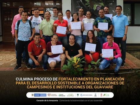 Culmina proceso de fortalecimiento en planeación para el desarrollo sostenible