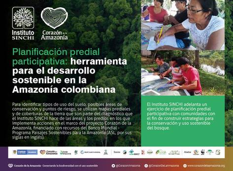 Planificación predial participativa: herramienta para el desarrollo sostenible en la Amazonía