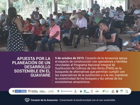 Apuesta por la planeación articulada de un desarrollo sostenible en el Guaviare