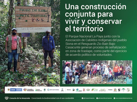 Una construcción conjunta para vivir y conservar el territorio