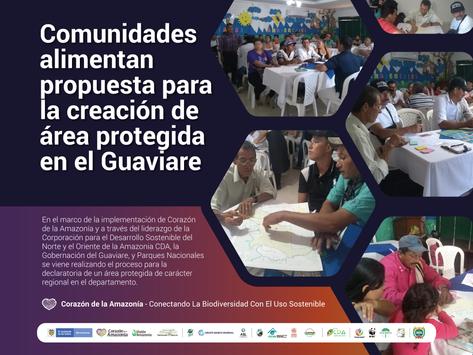 Comunidades alimentan propuesta para la creación de área protegida en el Guaviare