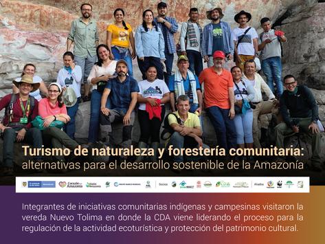 Turismo de naturaleza y forestería comunitaria