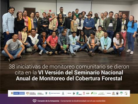 VI Versión del Seminario Nacional Anual de Monitoreo del Cobertura Forestal.