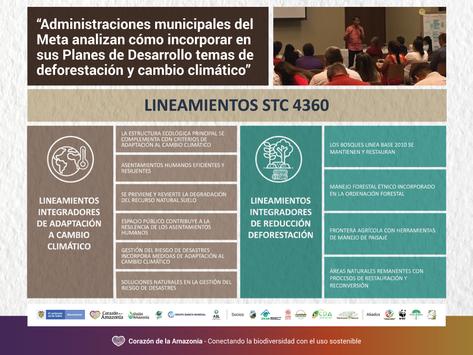 Administraciones municipales del Meta analizan cómo incorpora la Sentencia de la Amazonía.