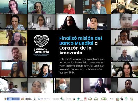 Finalizó misión del Banco Mundial a Corazón de la Amazonía