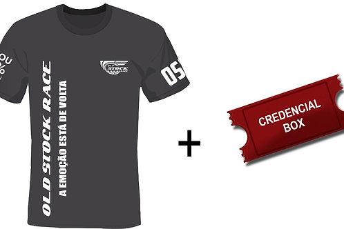 Camiseta OSR + Credencial de Box