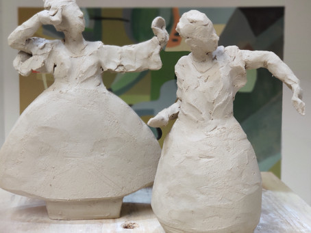 Clay Sketches Day 6 and 7