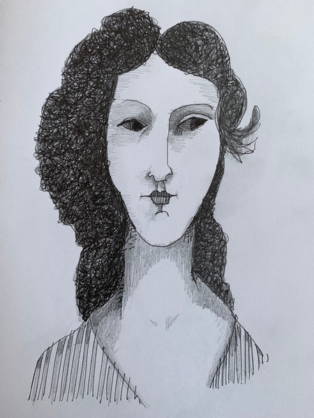 Homage Modigliani.JPG