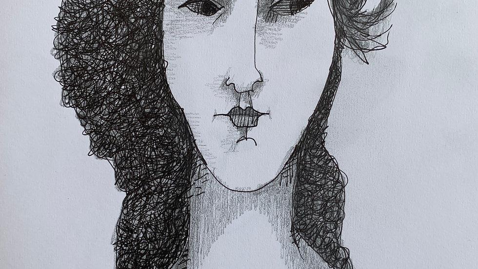 Homage Modigliani