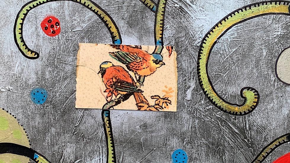 2 Birds, 1 Canvas