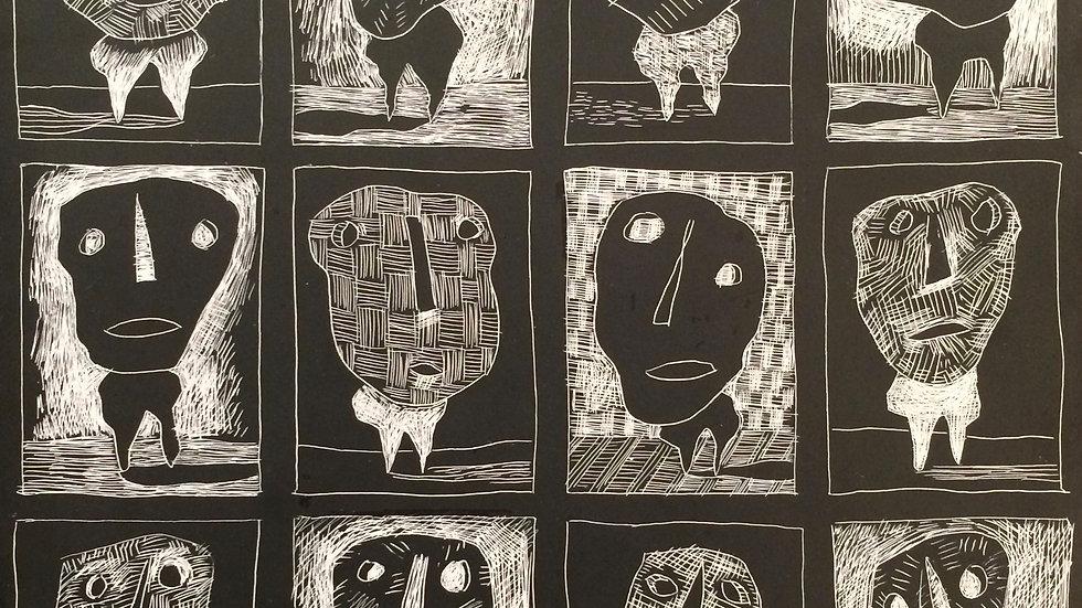 12 Masked Men