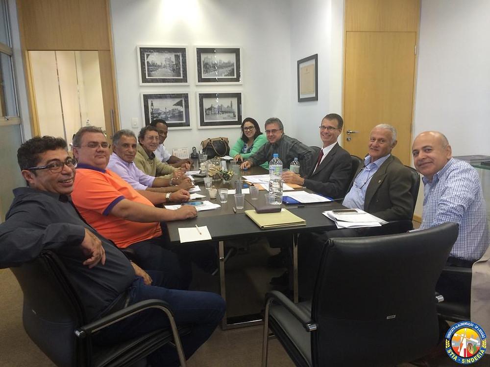 Reunião com o setor de azeite e óleo