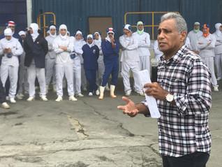 Trabalhadores da Seara/Massa Leve aprovam proposta para reajuste de salários