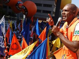 Centrais protestam contra aumento da taxa de juros