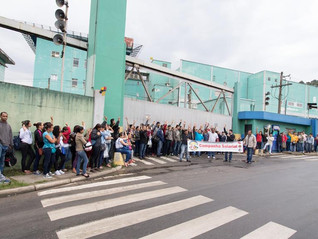 ASSEMBLEIA DE CAMPANHA SALARIAL NA EMPRESA PANCO
