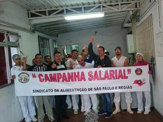 CAMPANHA SALARIAL   ALFA ALIMENTOS